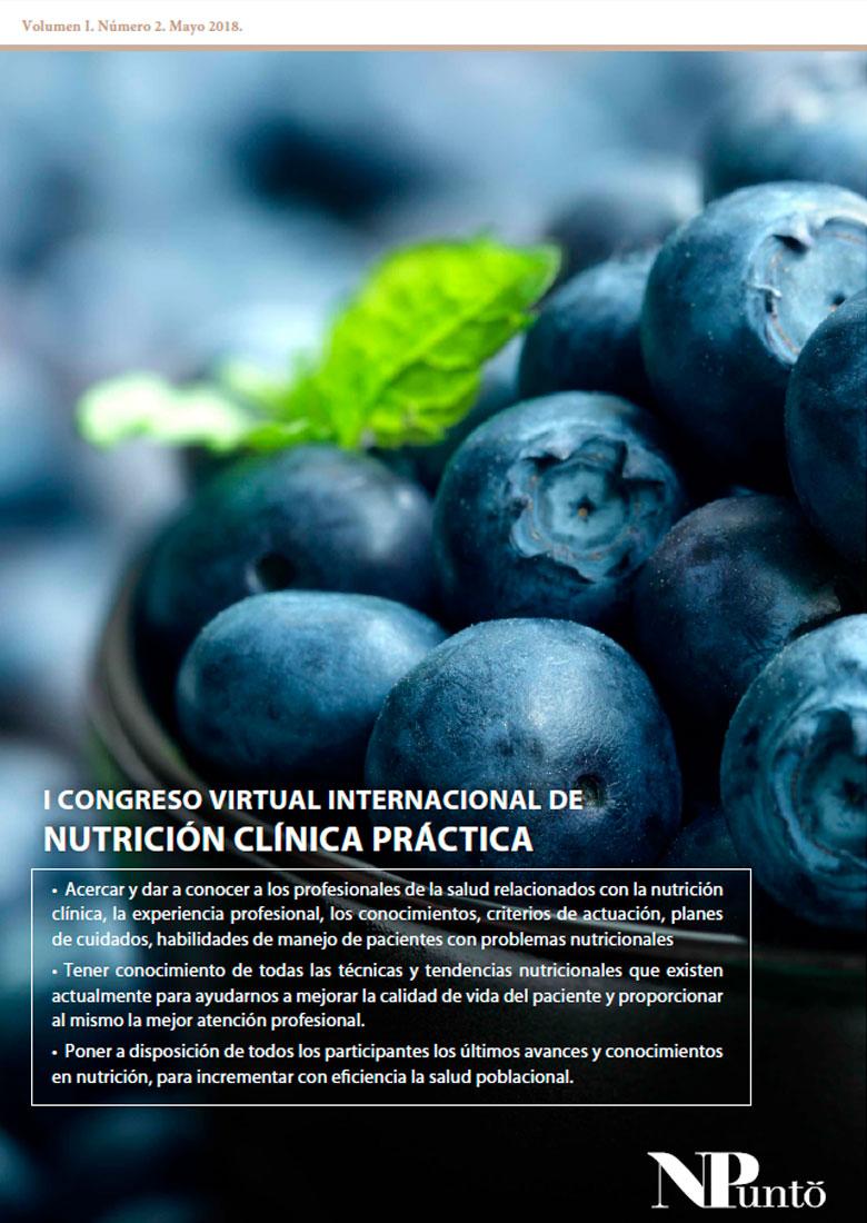Portada de I Congreso Internacional Virtual de Nutrición Clínica Práctica