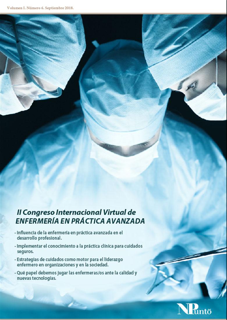Portada de II Congreso Internacional Virtual de Enfermería en Práctica Avanzada