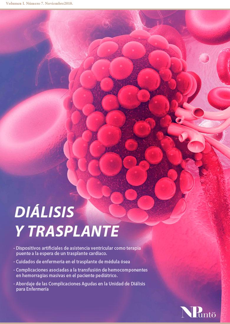 Portada de Diálisis y trasplante